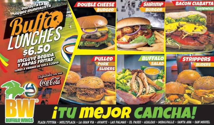 BUffALO lunches escoge tu mejor cancha - 16jun14