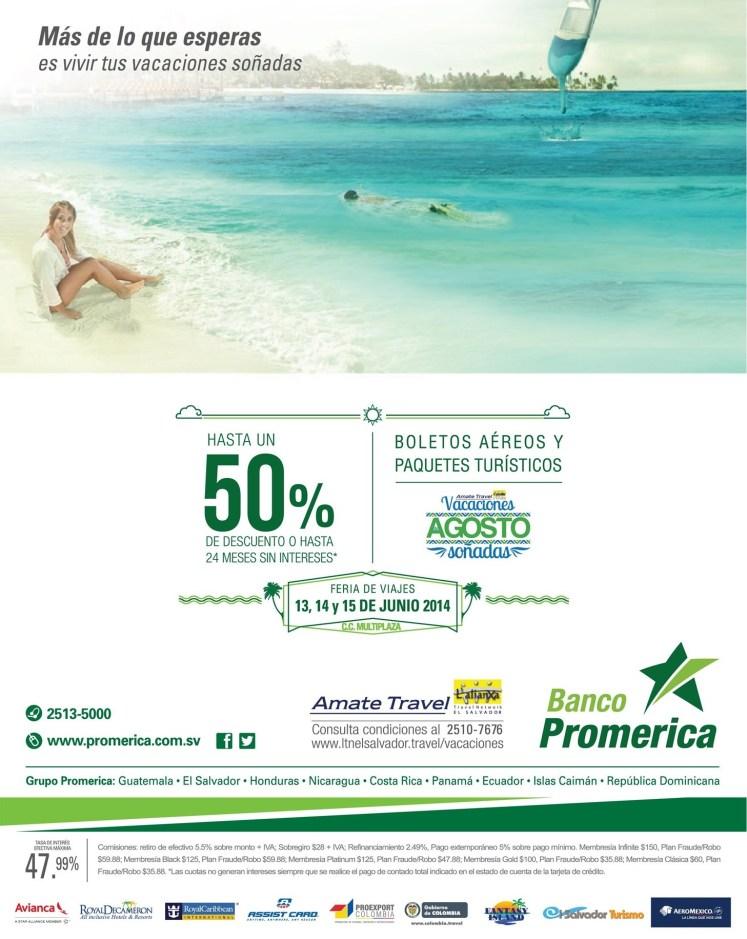 Banco promerica te ayuda con unas vacaciones soñadas