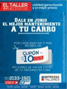 CUPON de 10 dolares para IMPRESA REPUESTOS - 02jun14