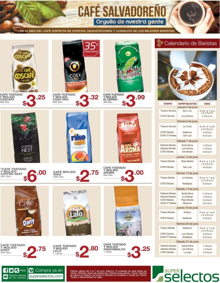 Cafe salvadoreño calendario de baristas el salvador - 03jun14