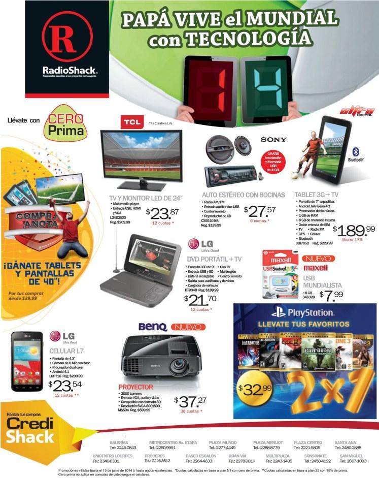 Compra ofertas en RadioShack y anota tu GOLAZO - 06jun14