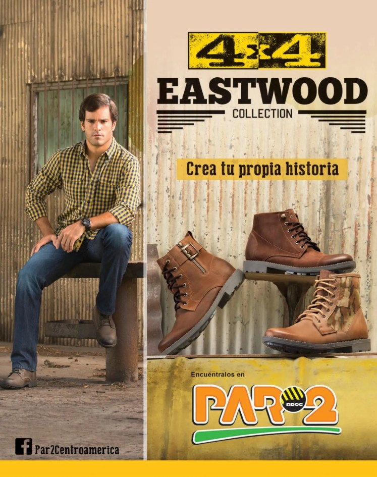 EASTWOOD collection 4x4  cazaldo PAR2 centroamerica