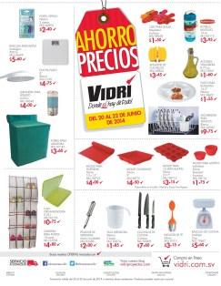 Fin de semana AHORRO PRECIOS almacenes vidri ofertas - 20jun14