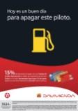 HOY descuento en cobustible gracias banco DAVIVIENDA - 23jun14
