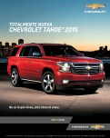 LIVE and KNOW new chevrolet TAHOE 2015
