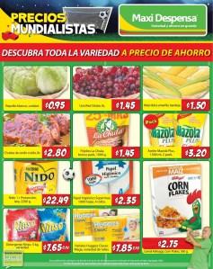 Maxi Despensa tambien se une a los precios de ahorro - 13jun14