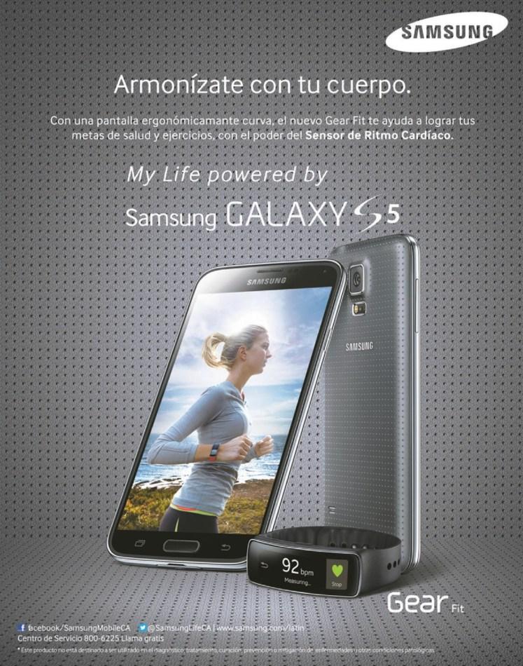 My life powered by samsung galaxy s5