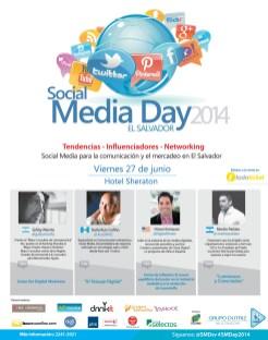 Oradores SMDAY2014 - Gaby Menta - Karla Ruis - Hiram Enriquez - Martin Parlato