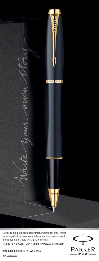 PARKER pen 125 years write your own history