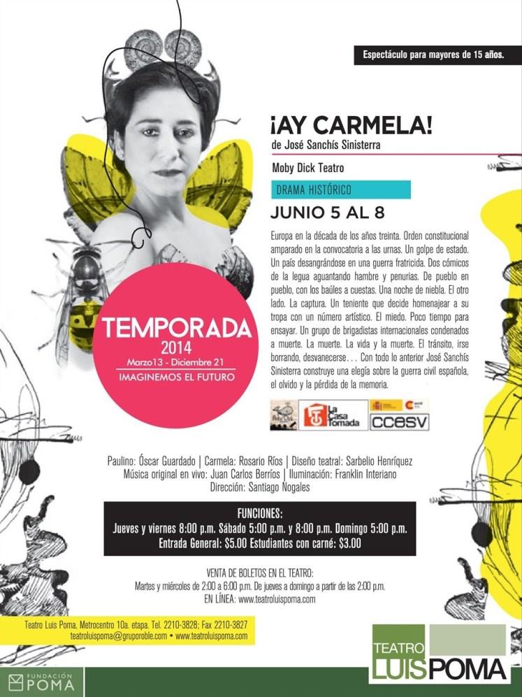 Presentacion de teatro Luis Poma AY CARMEN