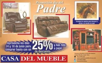 Promociones CASA DEL MUEBLE dia del padre - 16jun14