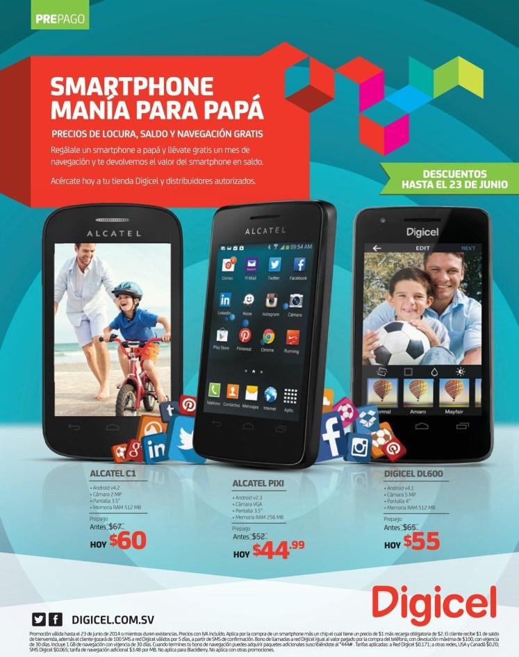 SMARTPHONE mani para PAPA promociones DIGICEL - 09jun14