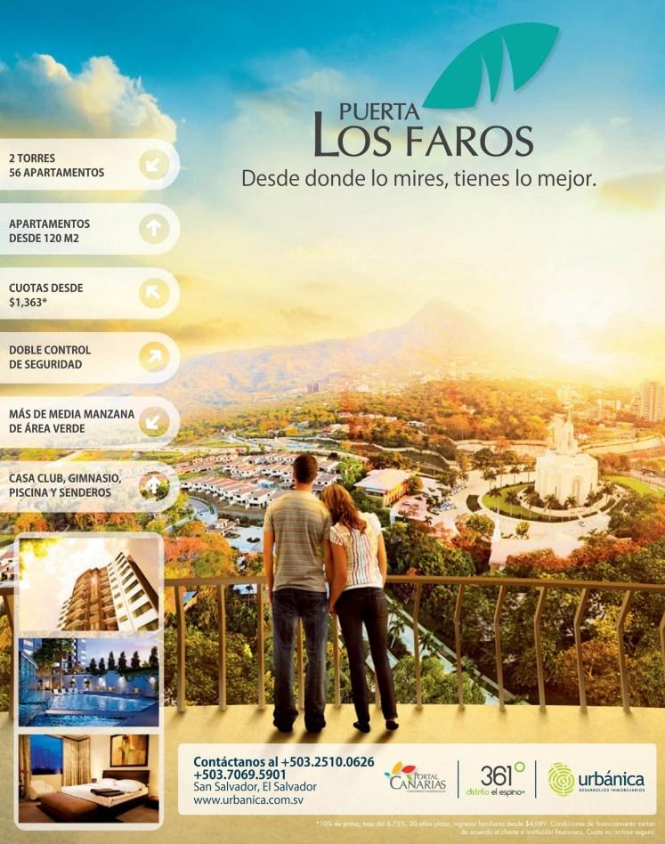 URBANICA apartamentos el salvador PUERTA Los Faros