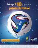 Ya tienes tu balon para este mundial BRASIL 2014