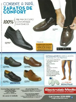 calzado de piel fina confortable anatomicos ULTRALIVIANOS