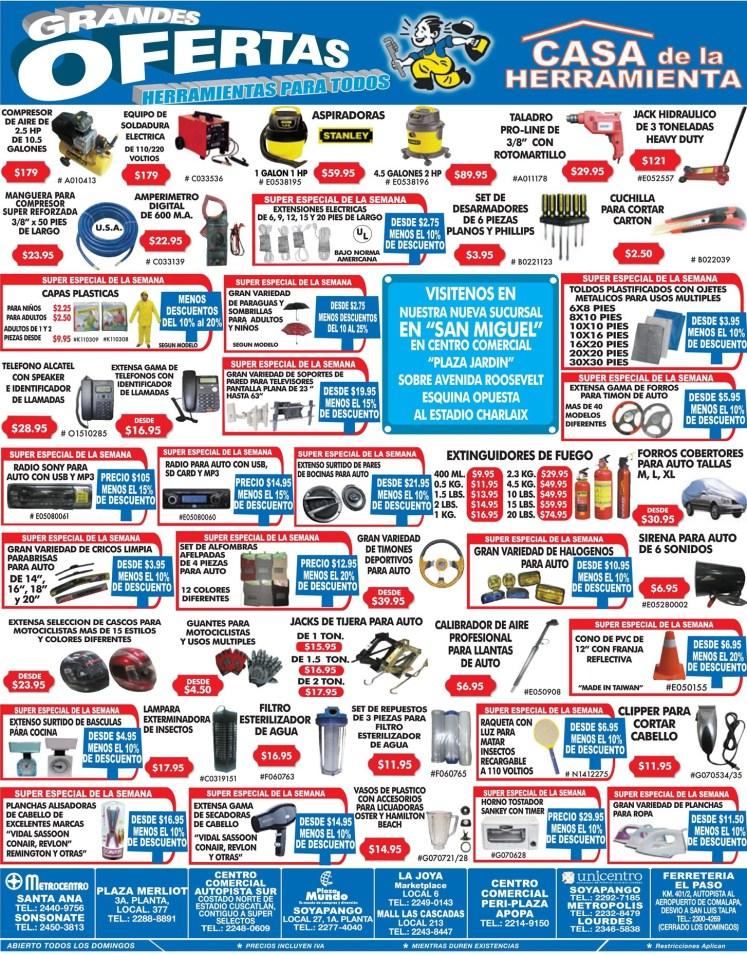 herramientas para todos ofertas de hoy - 23jun14