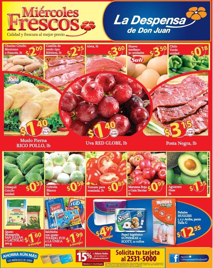 ofertas del dia LA DESPENSA DE DON JUAN - 04jun14