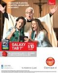 tablet GALAXY TAB para ver el mundial CLARO - 03jun14