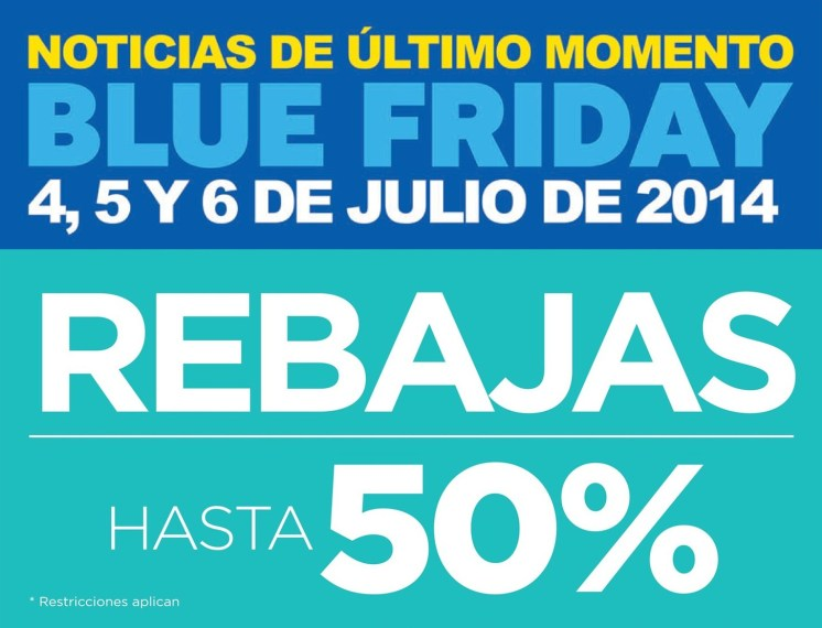 BLU FRIDAY 4th JULY discounts
