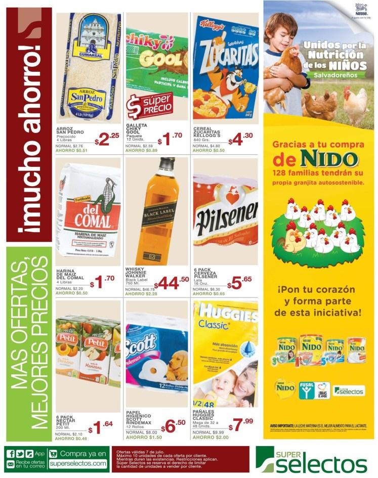 Mejores precios siempre ahorras en SUPER SELECTOS - 07jul14