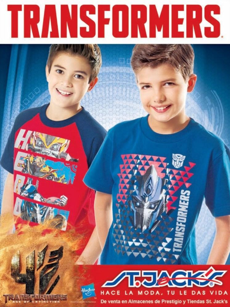 buscas tus camisetas de los TRASFORMERS st jacks - 04jul14