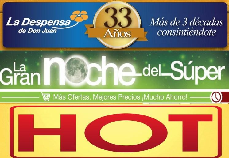 Las ofertas HOT de ahora viernes - 15ago14