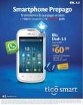 ofertas TIGO smartphone BLU dash 3.5 - 08ago14