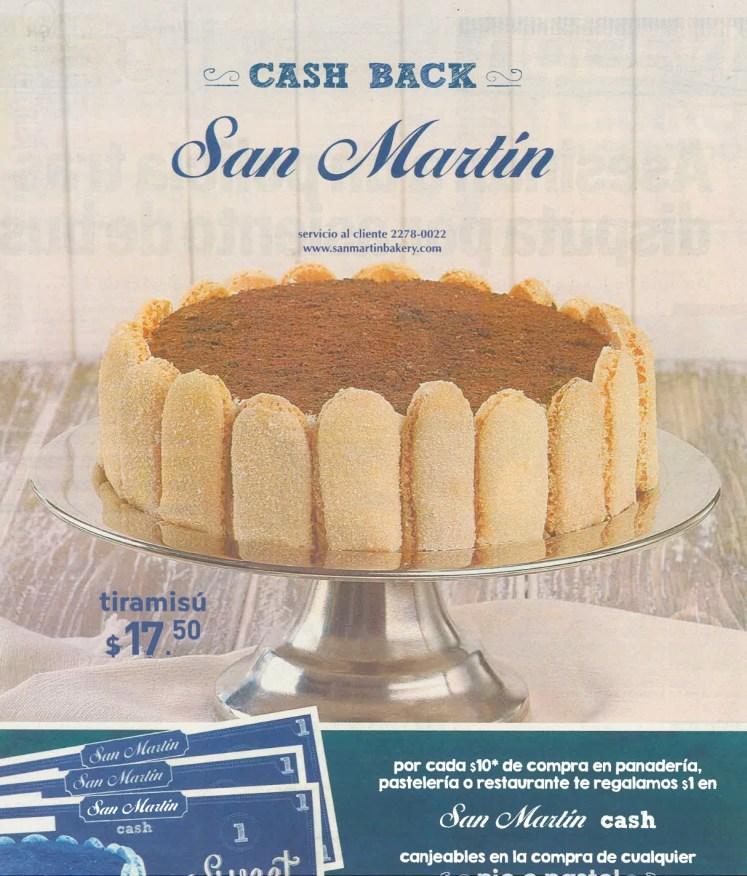 panaderioa Promociones SAN MARTIN cash back - 08ago14
