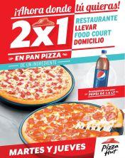 Ahora es dia de pizza favorita 2x1