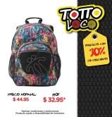 Descuento en mochilas GOMMA TOTTO el salvador - 20sep14