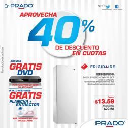 Descuento grandes en REFRIGERADORAS frigidaire PRADO ofertas - 25sep14
