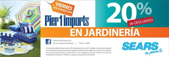 FRIDAY exclusive discount on PIER 1 imports - 26sep14