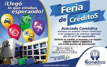 Feria de creditos asociado COMEDICA el salvador - 19sep14