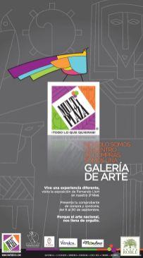 Galeria de arte Exposicion en Multiplaza san salvador - 15sep14
