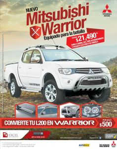 LOOK new pickup 4x4 MITSUBISHI L200 - 22sep-14