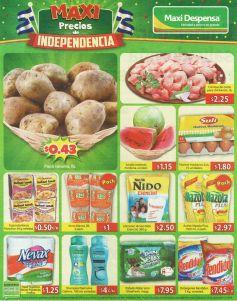 Maxi precios de independencia de mercado - 12sep14