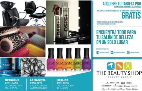 Proveedor de articulos y accessorios para tu sala de belleza