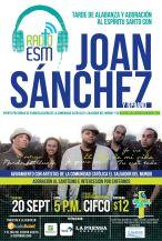 RadioElSalvadorDelMundo.com presenta JOAN SANCHEZ