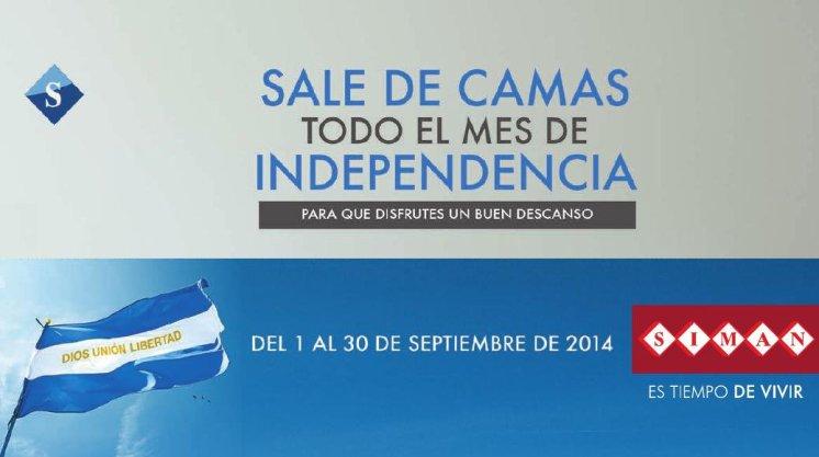 Siman el salvador SALE DE CAMAS septiembre 2014
