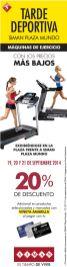 Tarde deportiva SIMAN plaza mundo eventos - 19sep14