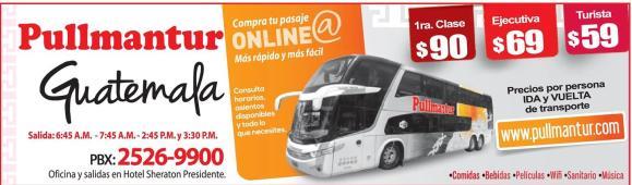 comprar boletos para viajar a guatemala en bus - 23sep14