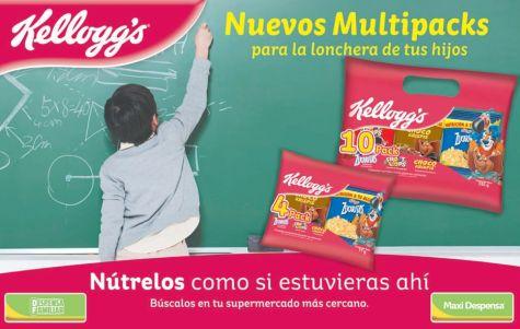 multipack de cerelales kelloggs para llevar a la escuela - 22sep-14