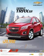new CHEVROLET TRAX suv 2015