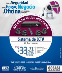 oferta KIT camaras tipo CCTV - 23sep14