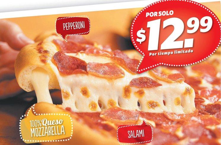 pizza ORIGINAL hut cheese