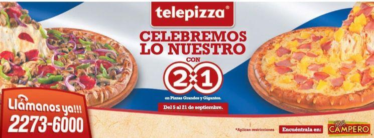 telepizza para comer el fin de semana - 20sep14
