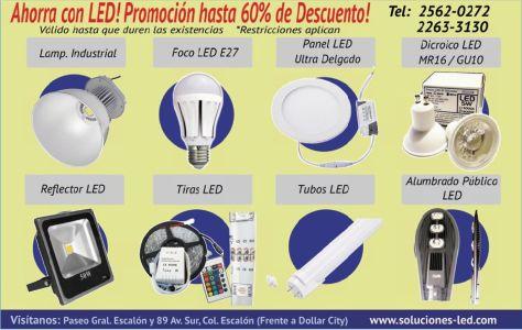 Ahorra con LED promociones hasta 60 FF descuento - 06oct14