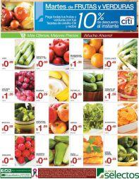 Ahorra este martes comprando frutas y verdurasv