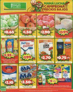 Asi los precios en los prodcuto despensa familiar - 03oct14