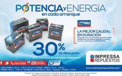 Baterias ENERmaX potencia y energia